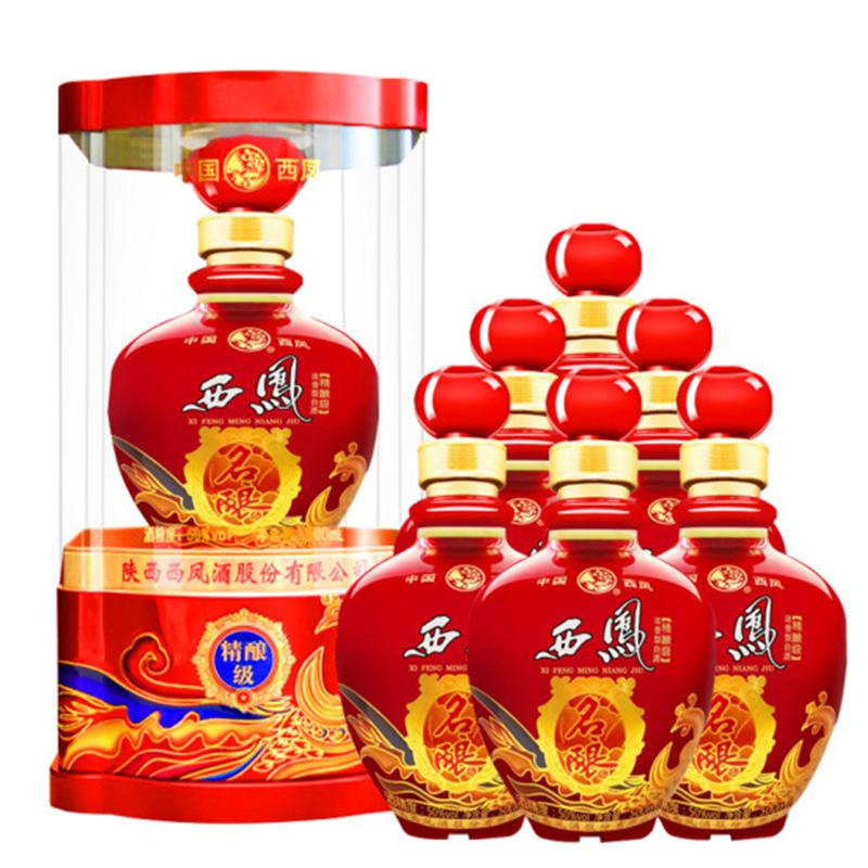 50°陕西 西凤酒 西凤名酿精酿500ml(6瓶装)