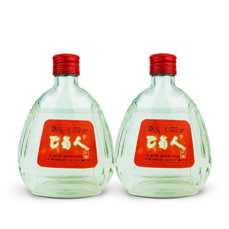 52°邛崃巴蜀人大曲酒245ml(2瓶装)1999年
