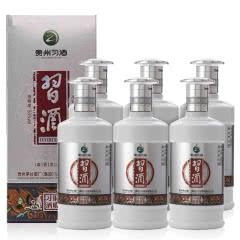 53°习酒银质习酒酱香型白酒500ml(6瓶装)