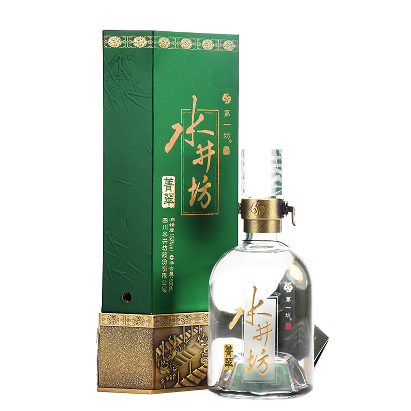 【老酒收藏酒】52°水井坊菁翠500ml(2012年)