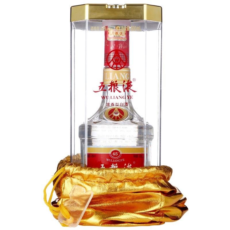 45度五粮液500ml(单瓶装)