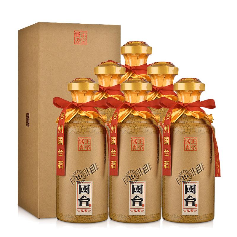 (买1箱送1箱)53°国台·品鉴15 500ml(6瓶装)