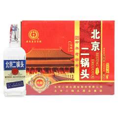 永丰牌北京二锅头清香型纯粮酒(出口型小方瓶)蓝标42度(整箱装)500ml*12瓶