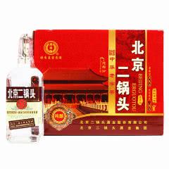永丰牌北京二锅头清香型纯粮酒(出口型小方瓶)咖标50度(整箱装)500ml*12瓶