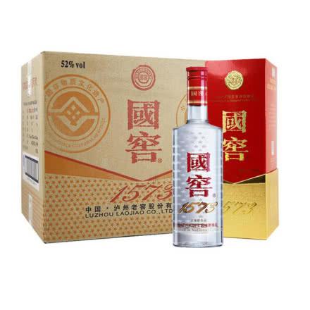 52° 泸州老窖 国窖1573 浓香型500ml*6瓶 整箱