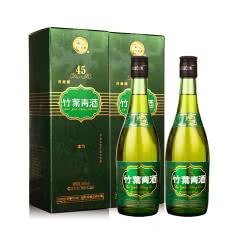 45°杏花村汾酒牧童竹叶青475ml(双瓶装)