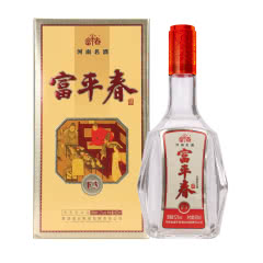 52度富平春F3浓香型白酒500ml