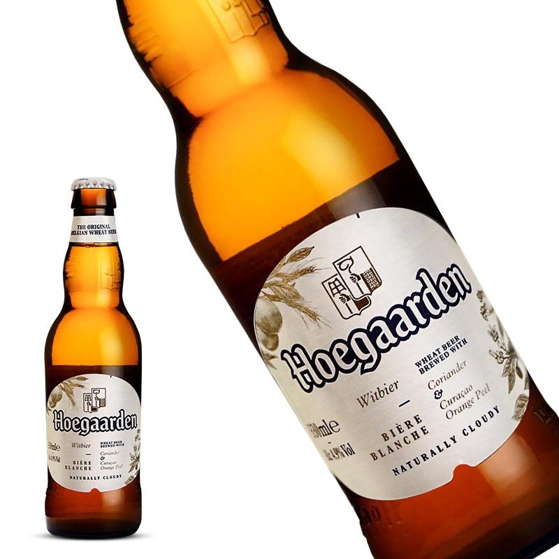 比利时进口福佳白啤酒(Hoegaarden)330ml*6瓶