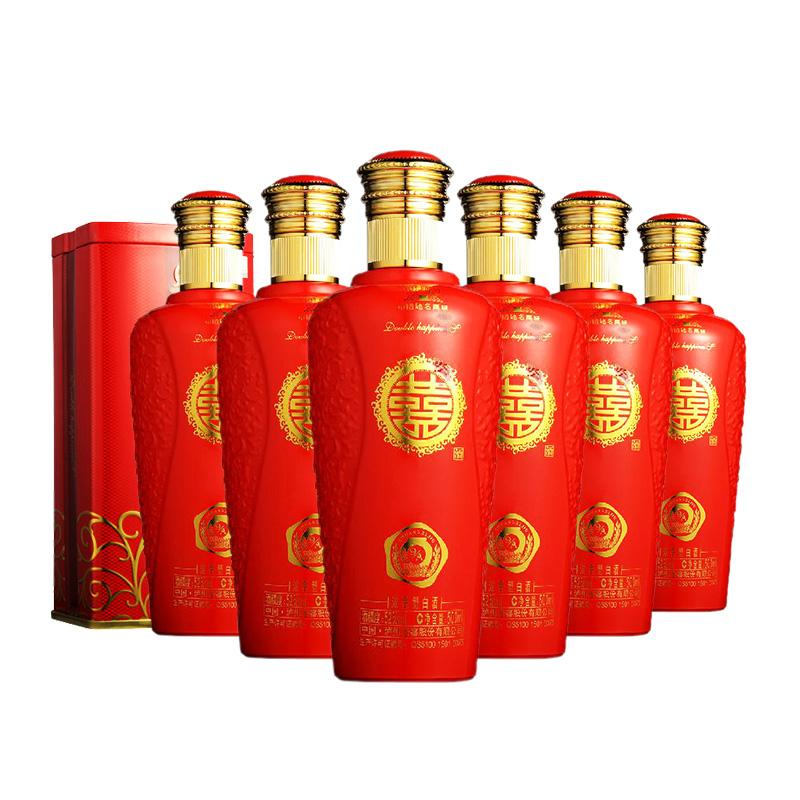 52°泸州老窖双喜酒A9(2013年)500ml(6瓶装)