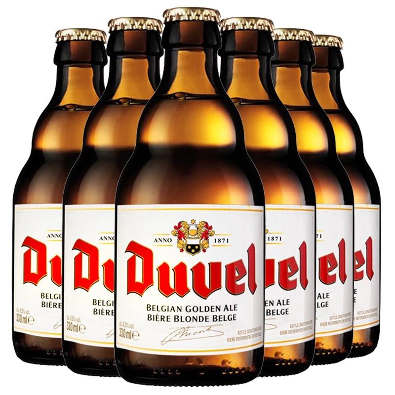 比利时进口啤酒Duvel督威精酿啤酒330ML*6瓶装