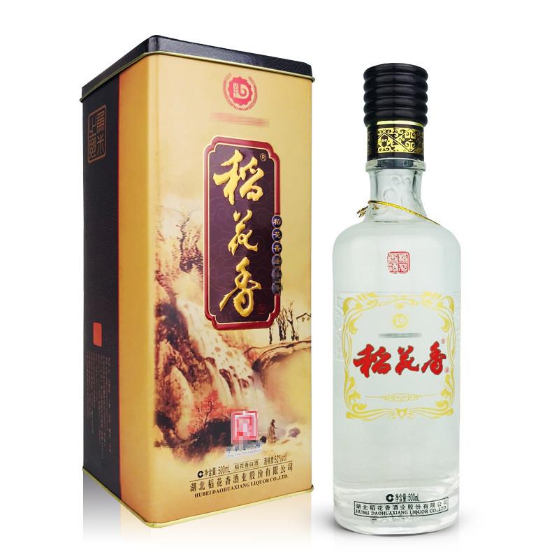 老酒 52°稻花香酒500ml(2012年)