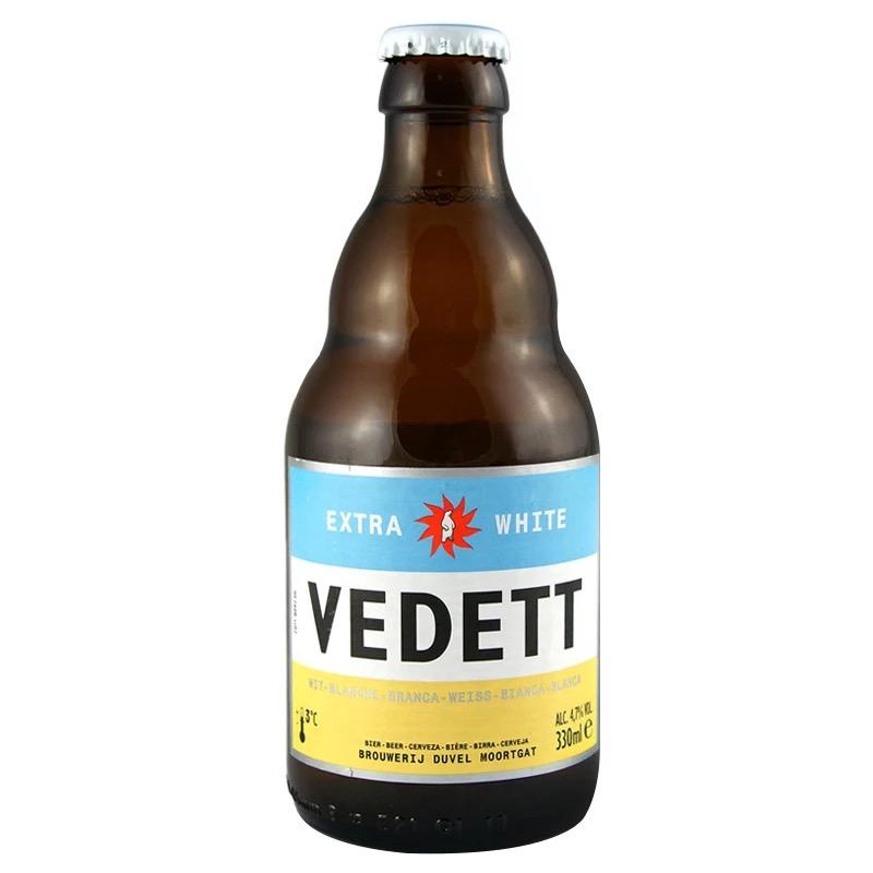 比利时原装进口白熊啤酒VEDETT330ml(6瓶装)