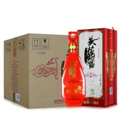 52°黄鹤楼酒 更上层楼三楼升级版 浓香型白酒500ml(6瓶装)