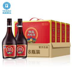 33°椰岛鹿龟酒清福装礼盒500ml(8瓶)