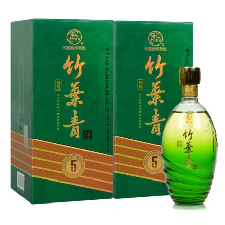 38°汾酒杏花村5年特酿竹叶青500ml(2瓶装)