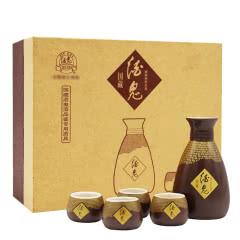 酒鬼酒陶瓷酒具 1壶+4杯 礼盒  送礼品袋
