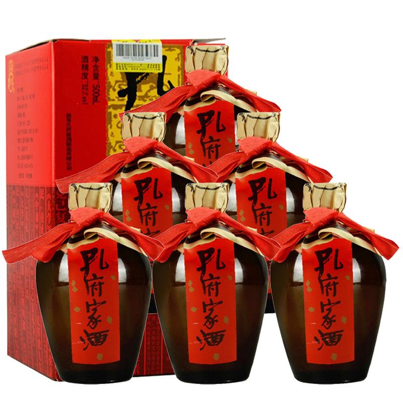 52°孔府家酒陶天下 500ml(6瓶装)
