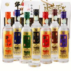 北京百年牛栏山二锅头42度珍品陈酿20小牛一下150ml*7瓶(七彩小酒礼盒装)浓香型