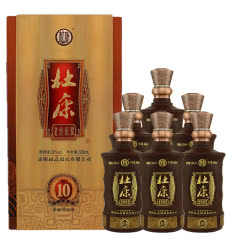 50°杜康老窖原浆10浓香型白酒500ml*6瓶整箱