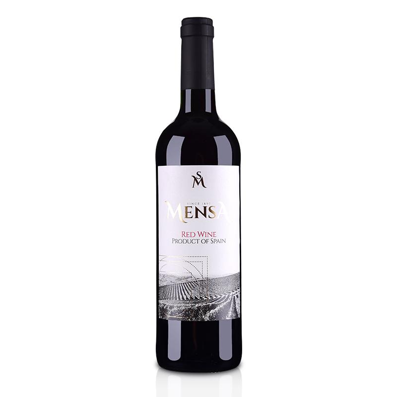 西班牙欧瑞安门萨古藤干红葡萄酒750ml