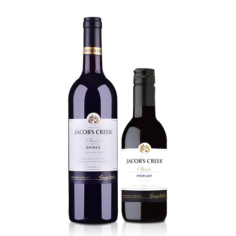 澳洲进口杰卡斯经典系列西拉干红葡萄酒750ml