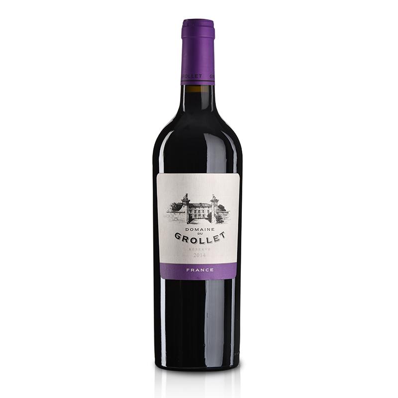法国格乐蕾干红葡萄酒2014年珍藏版750ml