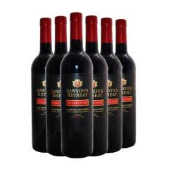 澳洲原瓶进口红葡萄酒 奔富洛神山庄 黑金西拉红葡萄酒750ml(6瓶装)