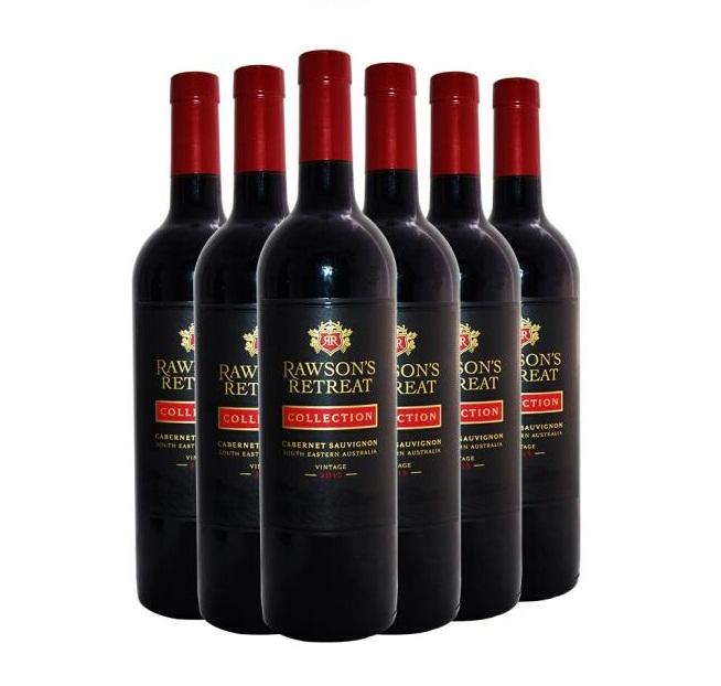澳洲原瓶进口红葡萄酒 奔富洛神山庄 黑金赤霞珠红葡萄酒750ml(6瓶装)