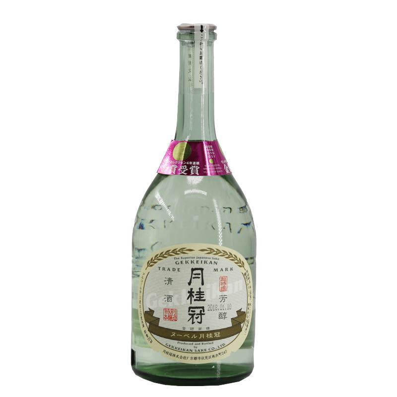 日本清酒月桂冠牌特别本酿造清酒720ml发酵酒单瓶价(不含酒具)