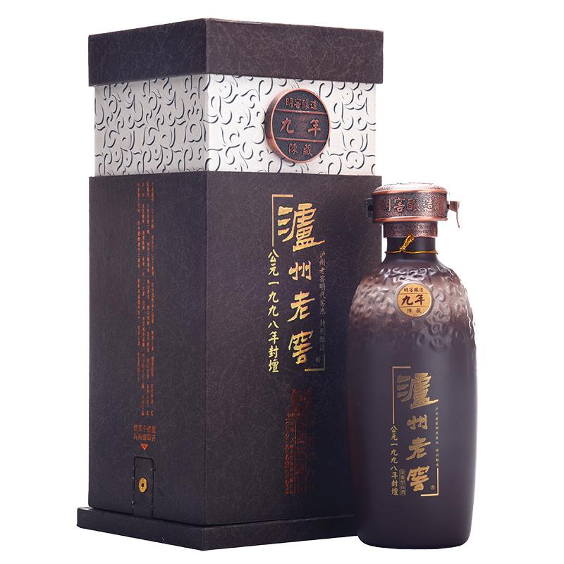 【老酒收藏酒】52°泸州老窖公元1998年封坛年份酒500ml(2007年)
