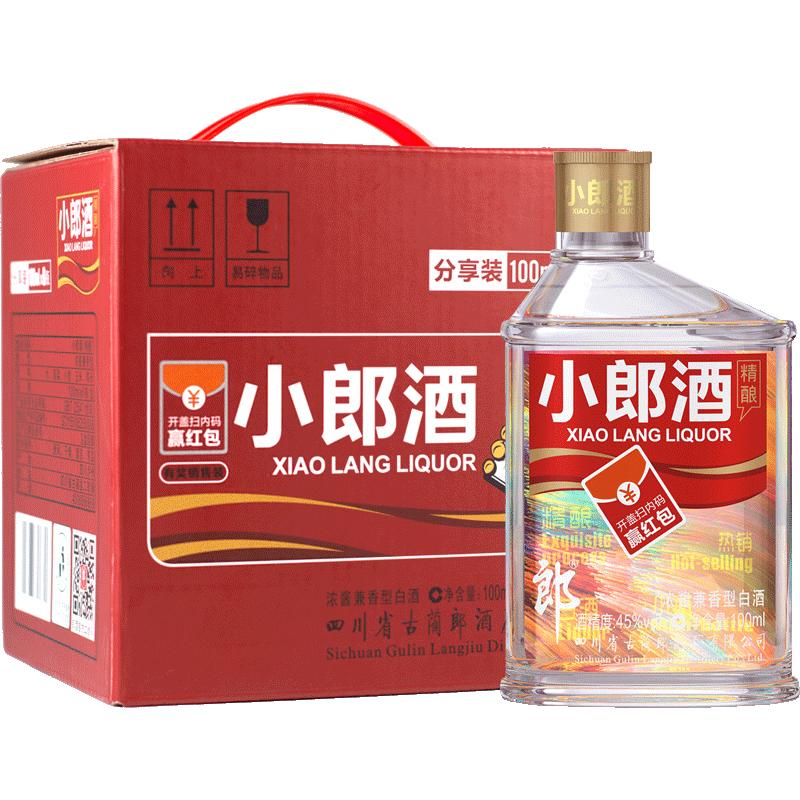 45°郎酒小郎酒精酿版100ml*6