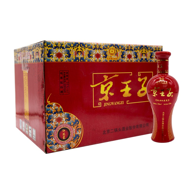 35°京王子红花瓷500ml(6瓶装)