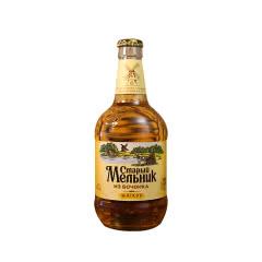 俄罗斯进口老米勒啤酒精酿黄啤酒玻璃瓶装浅色淡爽450ml*6