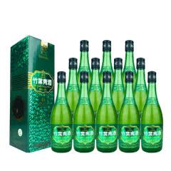 老酒 45º竹叶青酒盒装475ml(12瓶装)2007年