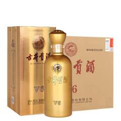 【酒厂直营,顺丰包邮】50°古井贡酒 V6 500ml(6瓶装)