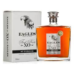 40°法国原瓶原装进口鹰牌XO洋酒白兰地礼盒装700mL