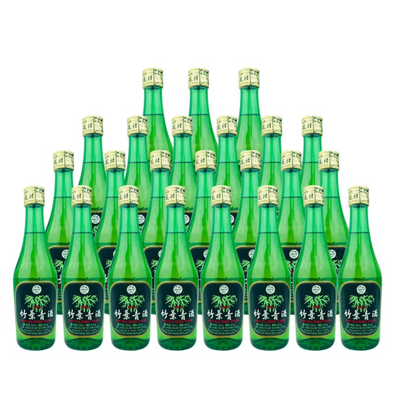 老酒 45º竹叶青酒250ml (24瓶装) 2008年