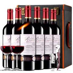 【中级庄】法国原瓶进口红酒梅多克明星庄李寇特庄园干红葡萄酒红酒整箱红酒礼盒装750ml*6