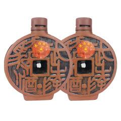 融汇老酒 46º武陵骄子酒 库币型酒版100ml(2瓶装)2003年
