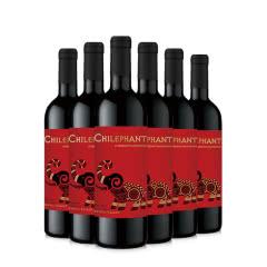 智利智象红标赤霞珠干红葡萄酒750ml*6整箱装