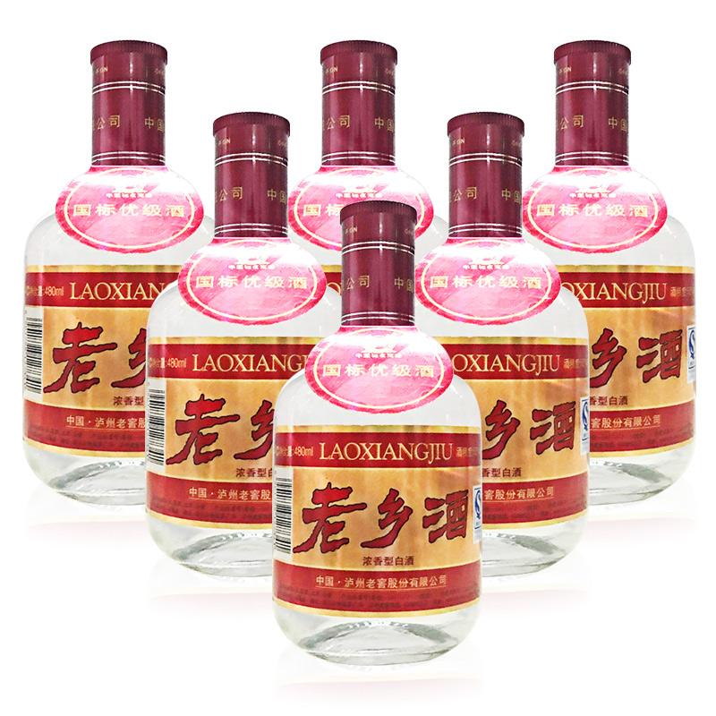 52°泸州老窖 老乡酒480ml(2009年)六瓶装