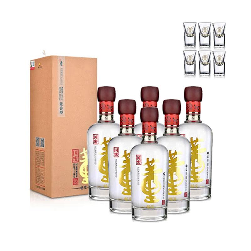 54°董酒(畅享版)500ml(6瓶装)+董酒酒具(乐享)