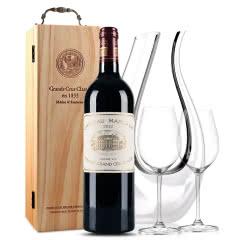 玛歌古堡干红葡萄酒  法国原瓶进口红酒  玛歌正牌 2012年 单支 750ml