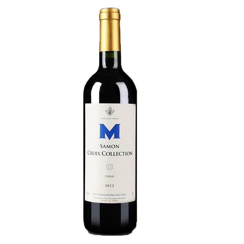 法国原瓶进口红酒尚门十字珍藏干红葡萄酒 750ML