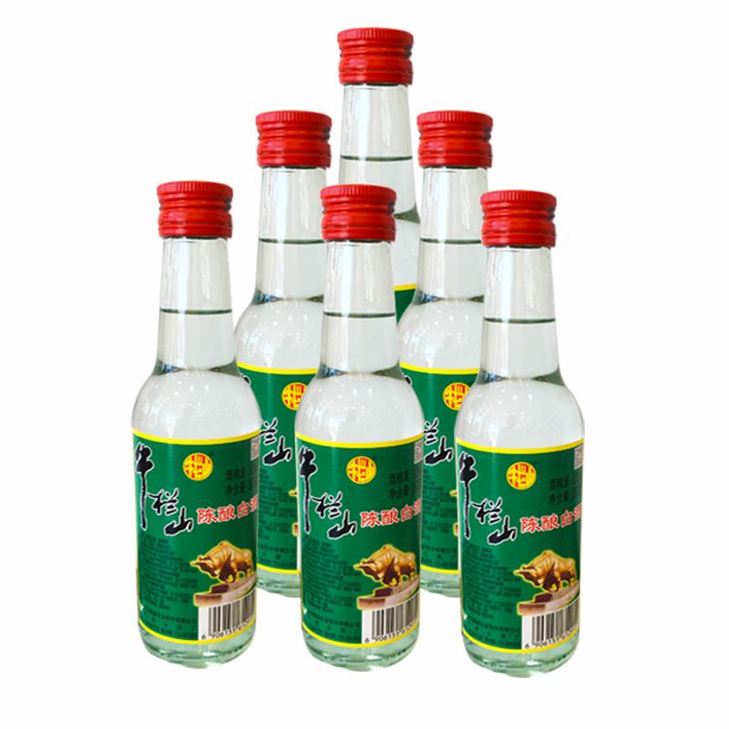 42°牛栏山北京二锅头白酒 陈酿a标牛二酒265ml(6瓶装)