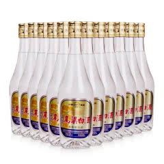 42°汾酒集团杏花村白酒整箱高粱白酒450ml(12瓶)