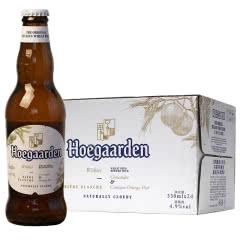 比利时进口福佳白啤酒(Hoegaarden)330ml*24瓶