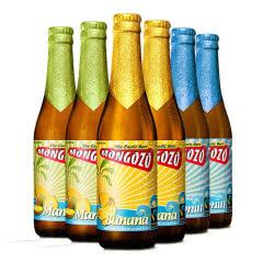 进口啤酒 比利时粉象酒厂梦果酌椰子啤酒 芒果香蕉果啤 330ml*6瓶