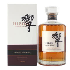 43°日本三得利响和风醇韵单一麦芽威士忌