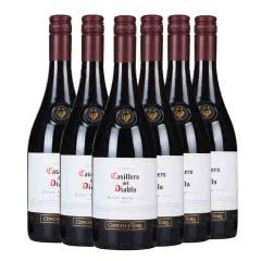 智利原瓶进口 干露红魔鬼黑皮诺红葡萄酒750ml(6瓶装)